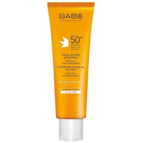 Babe Spf50 Facial Oil Free Dry Touch Yağsız Güneş Kremi