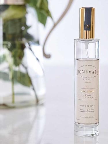 Homemade Aromaterapi Gül Suyu