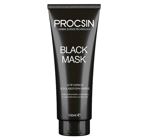 Procsin Soyulabilir Siyah Maske