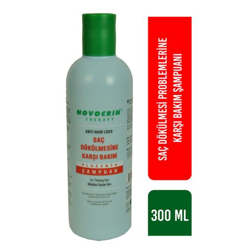 Novocrin Placenta Saç Dökülme Karşıtı Şampuan 300 ml